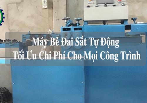 Máy bẻ đai sắt tự động – Tối ưu chi phí cho mọi công trình