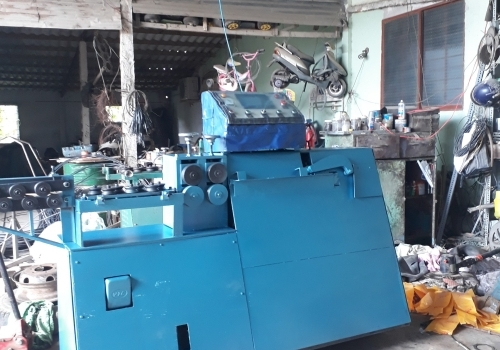 Test máy bẻ đai sắt phi 10