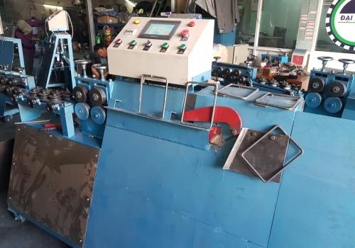 Test máy bẻ đai sắt giao về Hà Nội