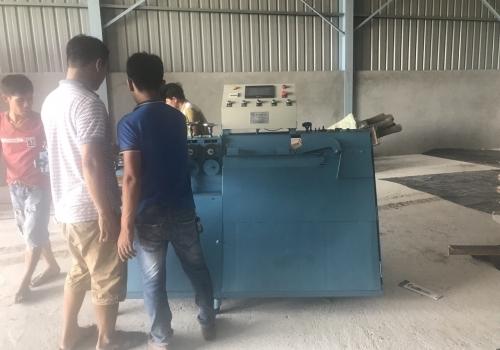 Máy bẻ đai sắt giao về Hưng Yên